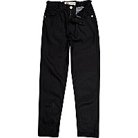 Boys blue denim coated slim jeans