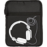 Boys black DJ mixer tablet case