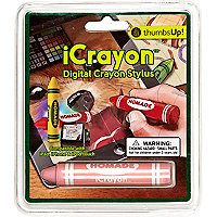 Kids pink crayon digital stylus