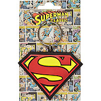 Boys blue Superman flexi keyring