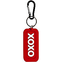 Girls red XOXO flexi keyring