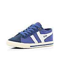 Boys blue Gola trainers