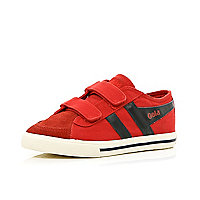 Boys red Gola velcro