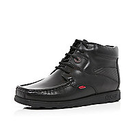 Boys black Kickers fragma boots