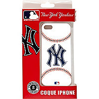 Boys white NY Yankees iPhone 5 case