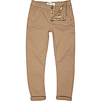 Boys stone skinny tapered chinos