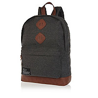 Boys grey warm handle rucksack