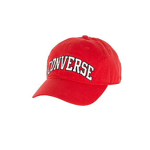 Boys red Converse cap