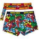 Boys Marvel Comics print boxers pack