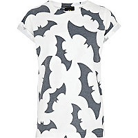 Boys white Batman multi print t-shirt