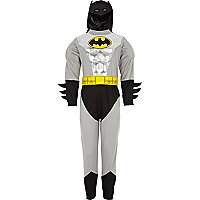 Boys grey Batman costume