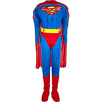 Boys blue Superman costume