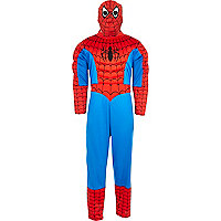 Boys red Spiderman costume