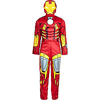 Boys red Ironman costume