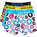 Boys blue candy 3 pack underwear