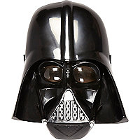 Boys black Darth Vader mask