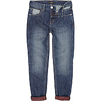 Boys mid wash slim tapered dylan jeans