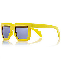 Boys yellow brick sunglasses