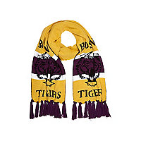 Boys purple Boston Tigers scarf
