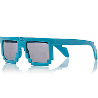 Boys blue brick sunglasses
