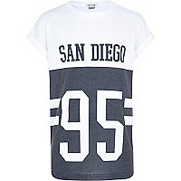 Boys black print San Diego t-shirt