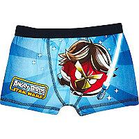 Boys blue Angry Birds underwear