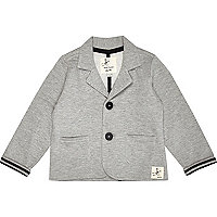 Mini boys grey blazer