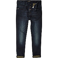 Boys dark denim skinny sid jeans