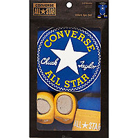 Mini boys blue Converse gift set