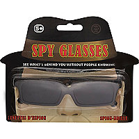 Boys black spy glasses
