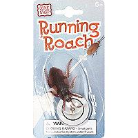 Kids running roach