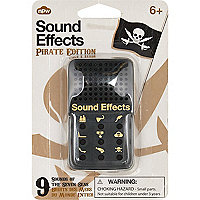 Boys black pirate sound effects