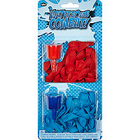 Boys blue waterbomb combat