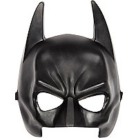 Boys black Batman mask