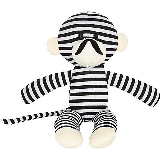 Mini boys black stripe monkey