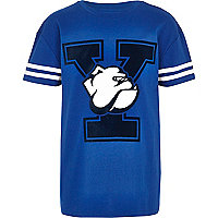 Boys blue Yale t-shirt