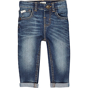Mini boys mid authentic skinny jeans