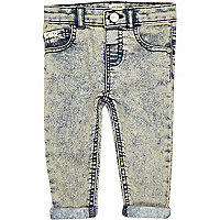 Mini boys ice denim skinny jeans