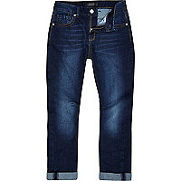 Boys blue medium wash chester jeans