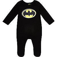 Mini boys Batman sleepsuit