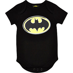 Mini boys Batman bodysuit