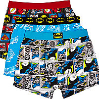 Boys blue Batman 3 pack underwear