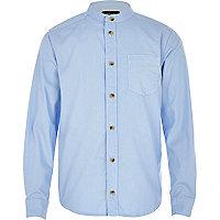 Boys light blue long sleeve oxford shirt