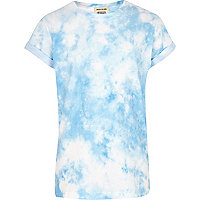 Boys blue tie dye t-shirt