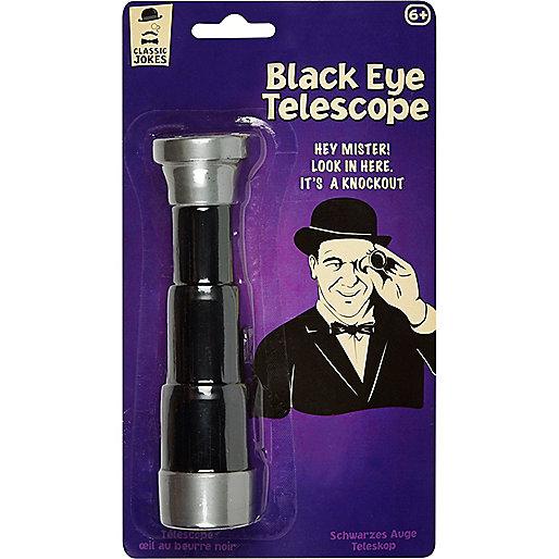Boys black eye telescope