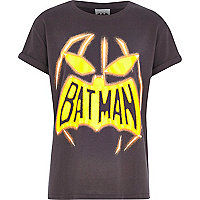 Boys black Batman pumpkin t-shirt