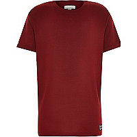 Boys red short sleeve t-shirt
