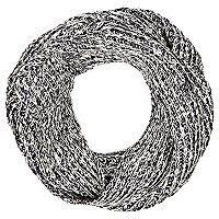 Boys blue twist yarn snood