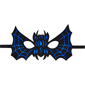 Kids blue spider halloween mask