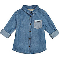 Mini boys denim shirt
